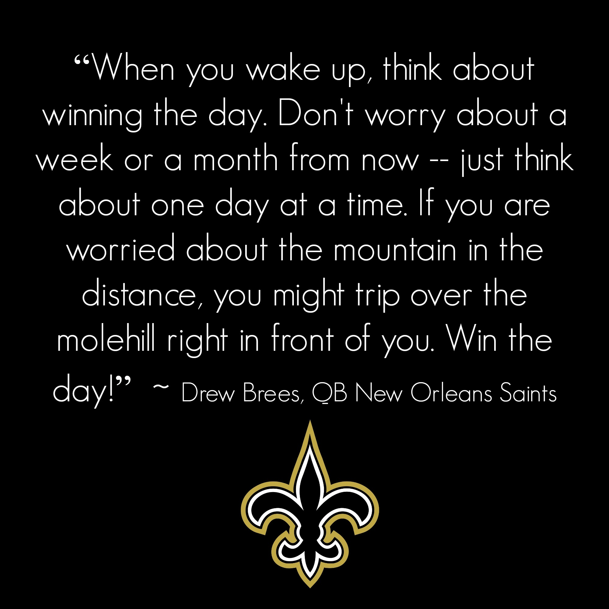 Drew Brees Winning Mentality The Strong Movement 174