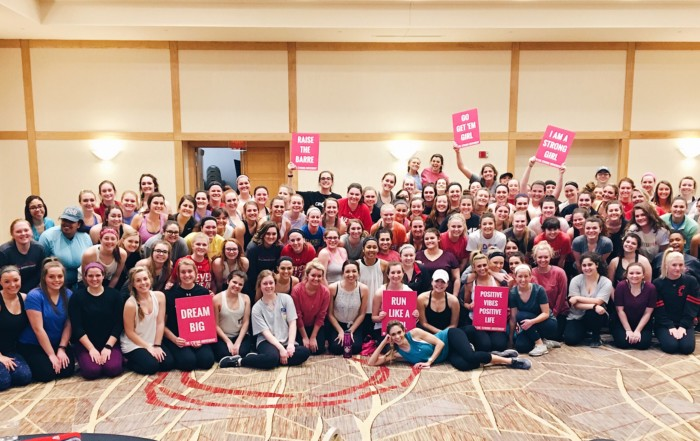 University of Cincinnati Gamma Phi Beta Sorority Sisterhood Retreat Strong Girl Workshop Workout The Strong Movement Programming-min
