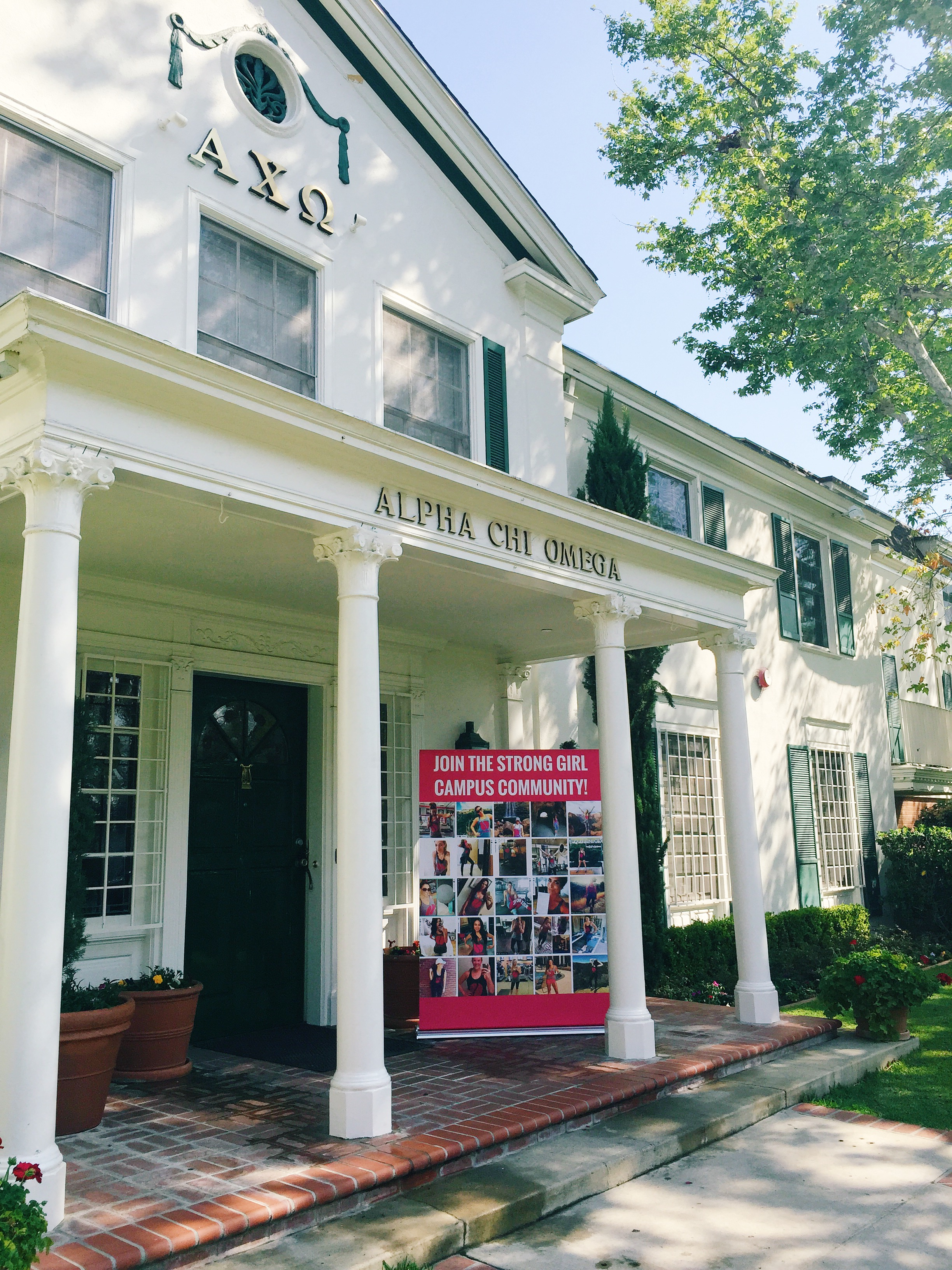 strong girl pop-up @ usc alpha chi omega | the strong movement®