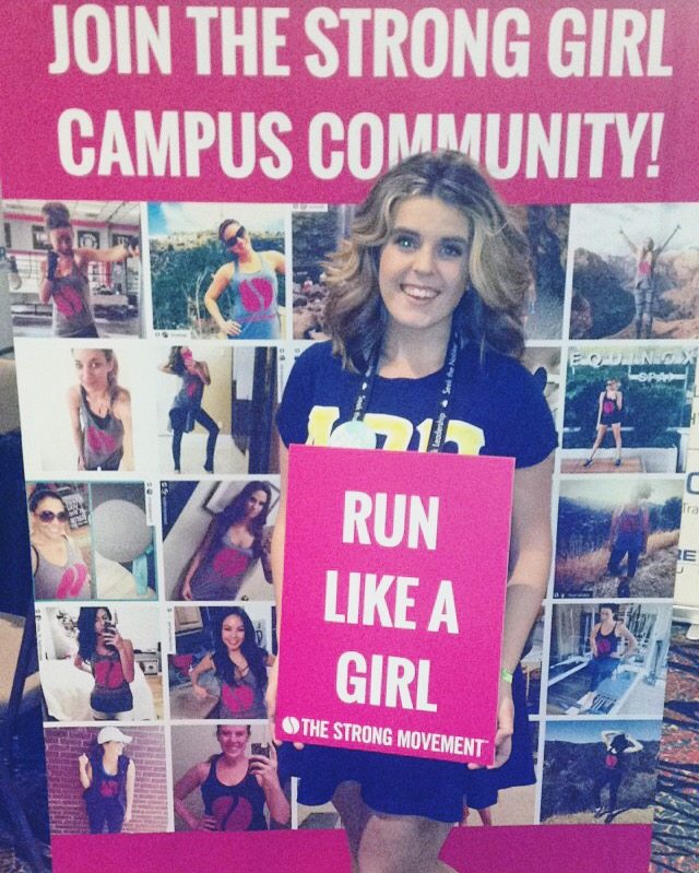 bri cohol the strong movement strong girl campus ambassador youngstown state university ysu 5