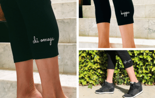 TSM The Strong Movement Official Sorority Greek Activewear Performance Leggings