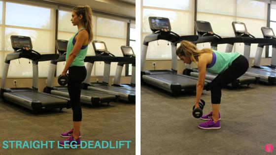 Straight leg deadlift The Strong Movement