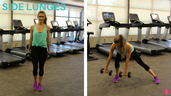 side lunges The Strong Movement