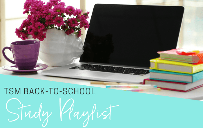 TSM Back-to-School Study Playlist The Strong Movement Spotify - September-min