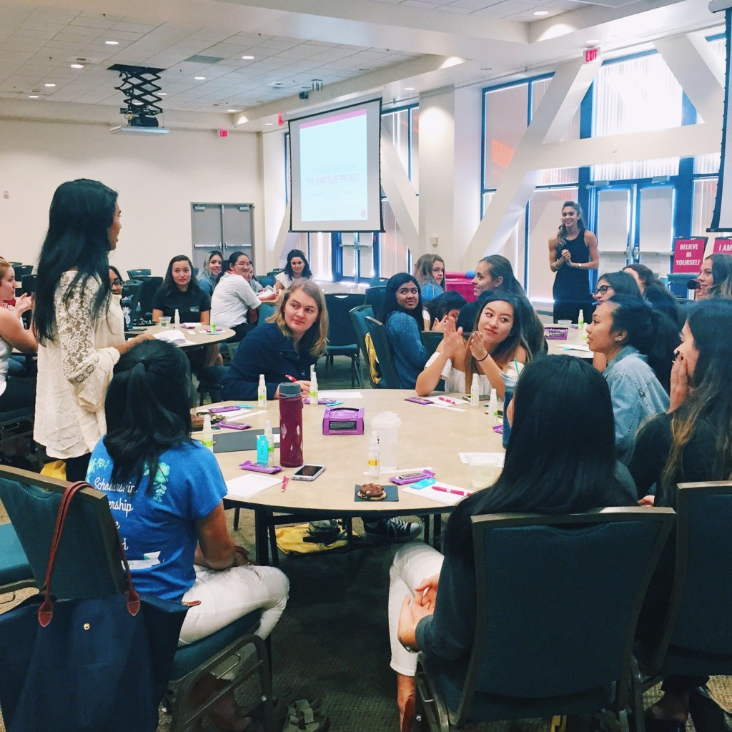 UCI Strong Girl Workshop Strong Movement Panhellenic Sorority Programming Sistershood Campus Clubs Irvine 1-min