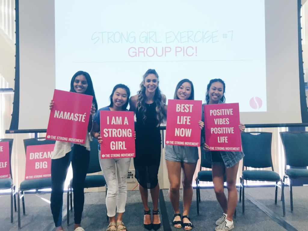 UCI Strong Girl Workshop Strong Movement Panhellenic Sorority Programming Sistershood Campus Clubs Irvine 2-min