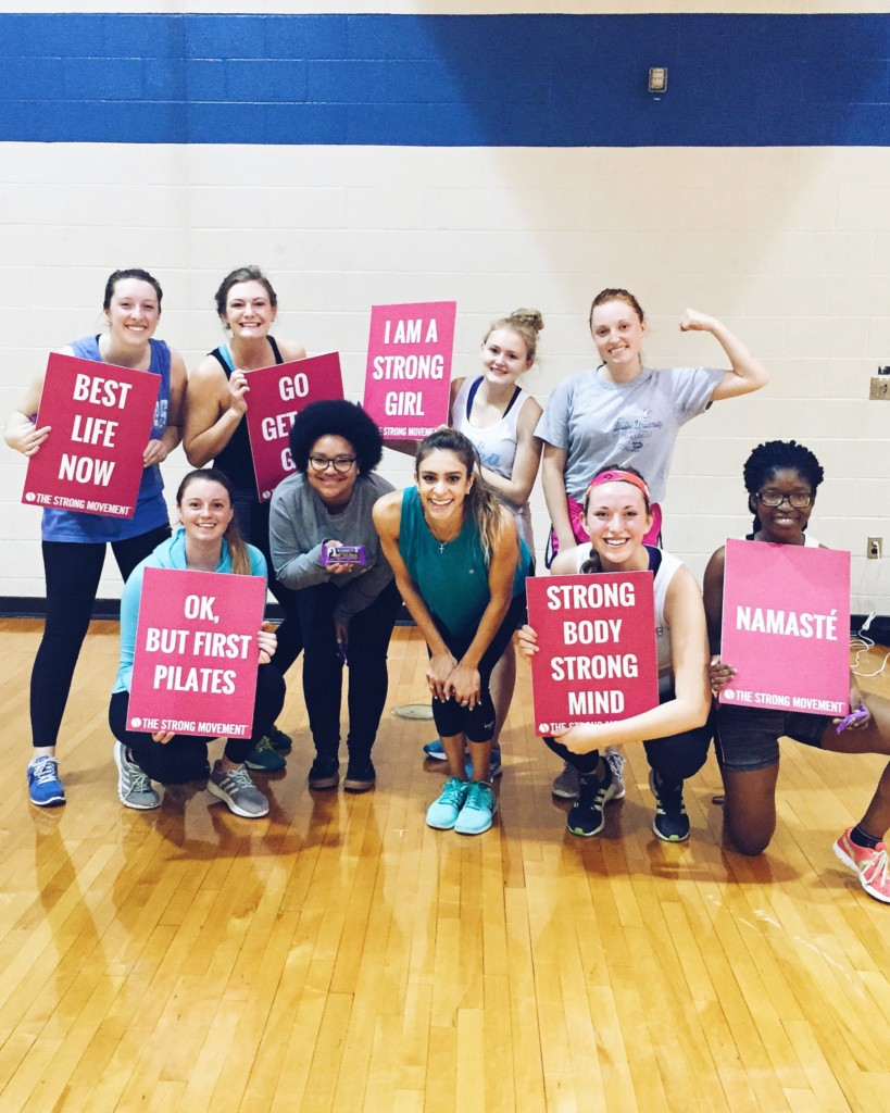 sorority panhellenic sisterhood programming strong girl workshop workout strong movement drake university des moines iowa 2-min