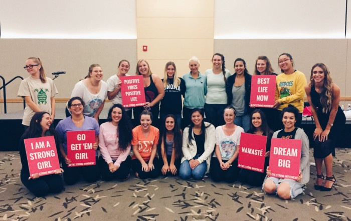 sorority panhellenic sisterhood programming strong girl workshop workout strong movement sonoma state body image-min