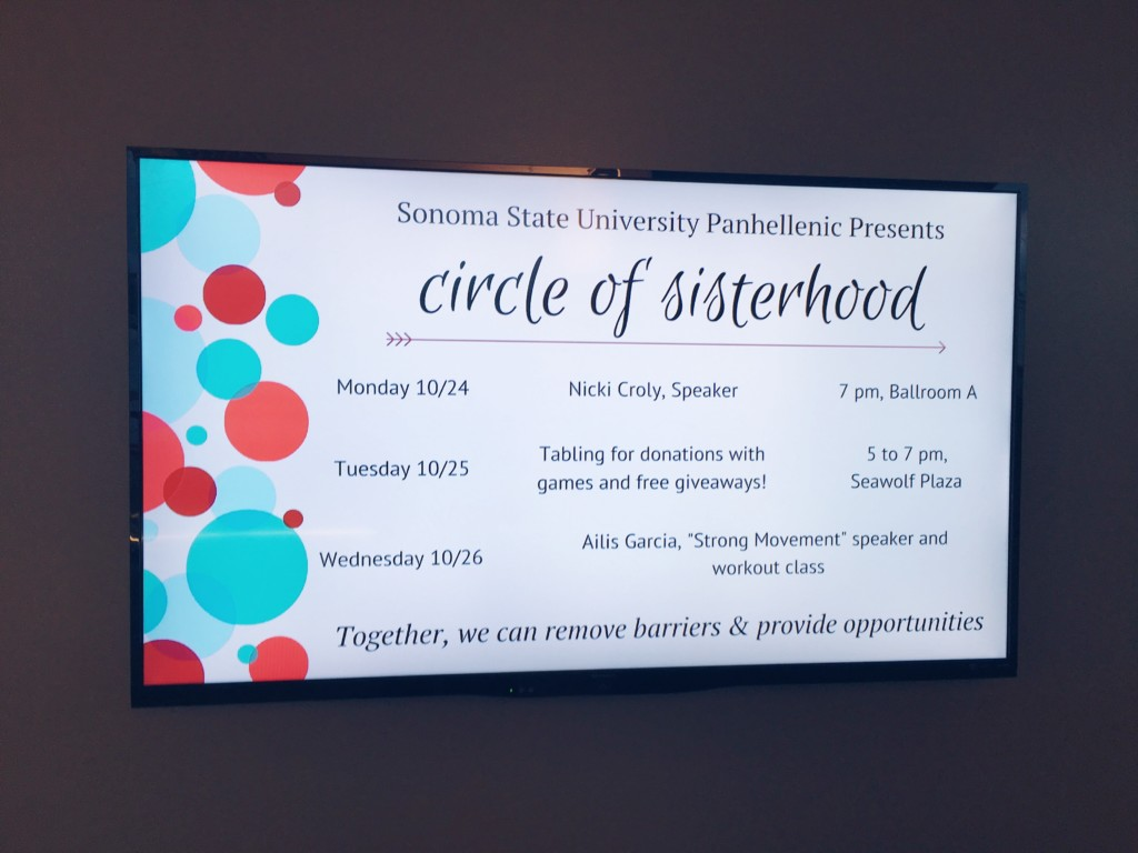 sorority panhellenic sisterhood programming strong girl workshop workout strong movement sonoma state circle of sisterhood-min
