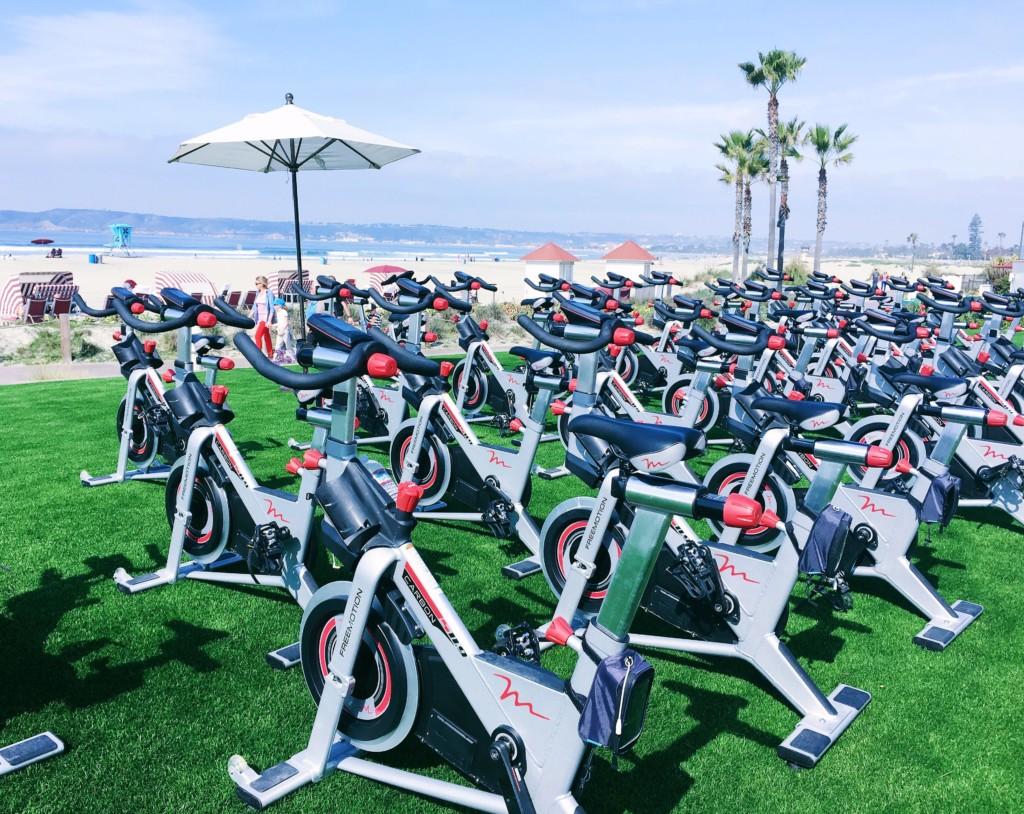 strong girl guide to spin class bikes cycle coronado hotel-min