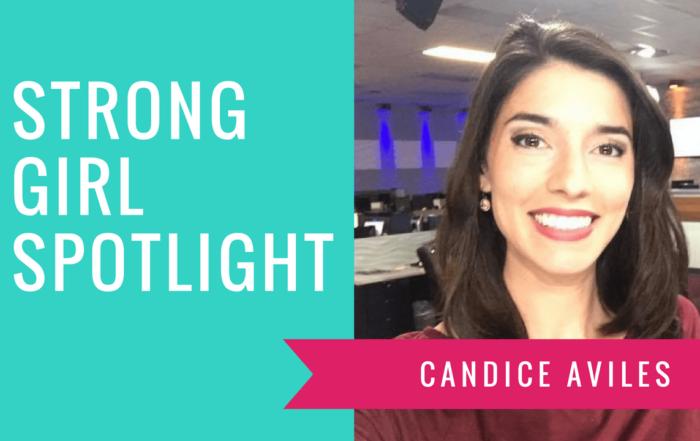 Strong Girl Spotlight The Strong Movement CANDICE AVILES reporter anchor WTSP Tampa florida-min