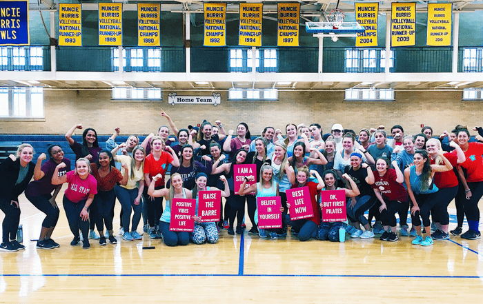 Ball State University BSU The Strong Movement Strong Girls on Campus Chapter Programming Sorority Sisterhood Events Workshop Women Steps Stronger More Confident Happier Panhellenic-min