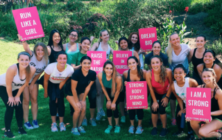 San Diego State University SDSU The Strong Movement Strong Girls on Campus Chapter Programming Sorority Sisterhood Events Workshop Women Steps Stronger More Confident Happier Panhellenic-min