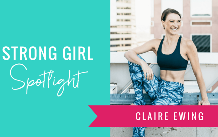 Strong Girl Spotlight The Strong Movement Claire Ewing Corepower Yoga-min