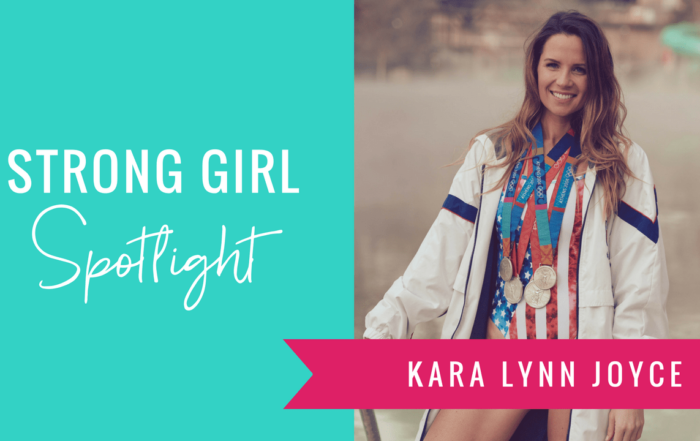 Strong Girl Spotlight The Strong Movement Kara Lynn Joyce US Olympic Swimmer LEAD Summit-min