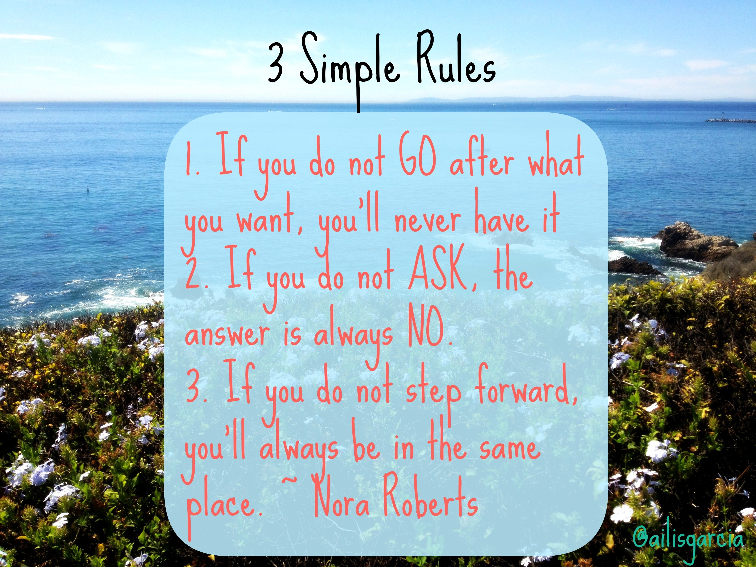 motivation monday 3 simple rules in life the strong movement